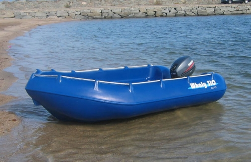 Whaly 310 plastic boat