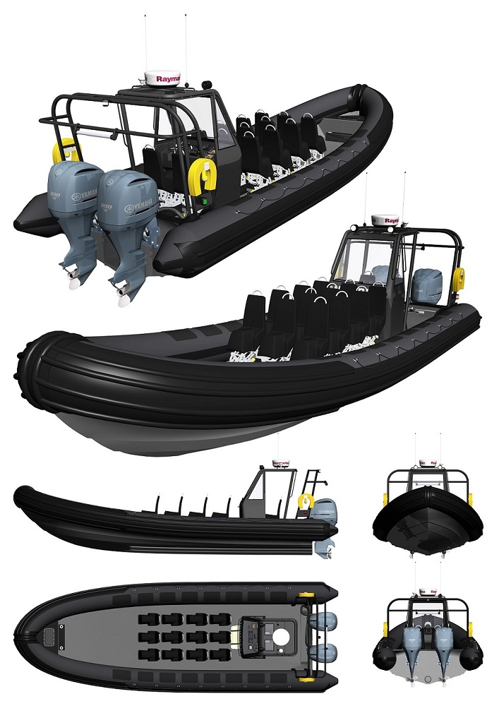 New Humber offshore Commercial Passenger RIBs for sale