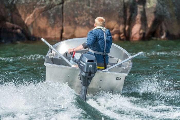Aluminium boat